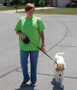 dog walking in Muncie, Indiana