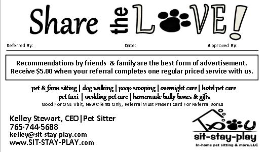 referral program helps you earn money sit stay play in home pet
