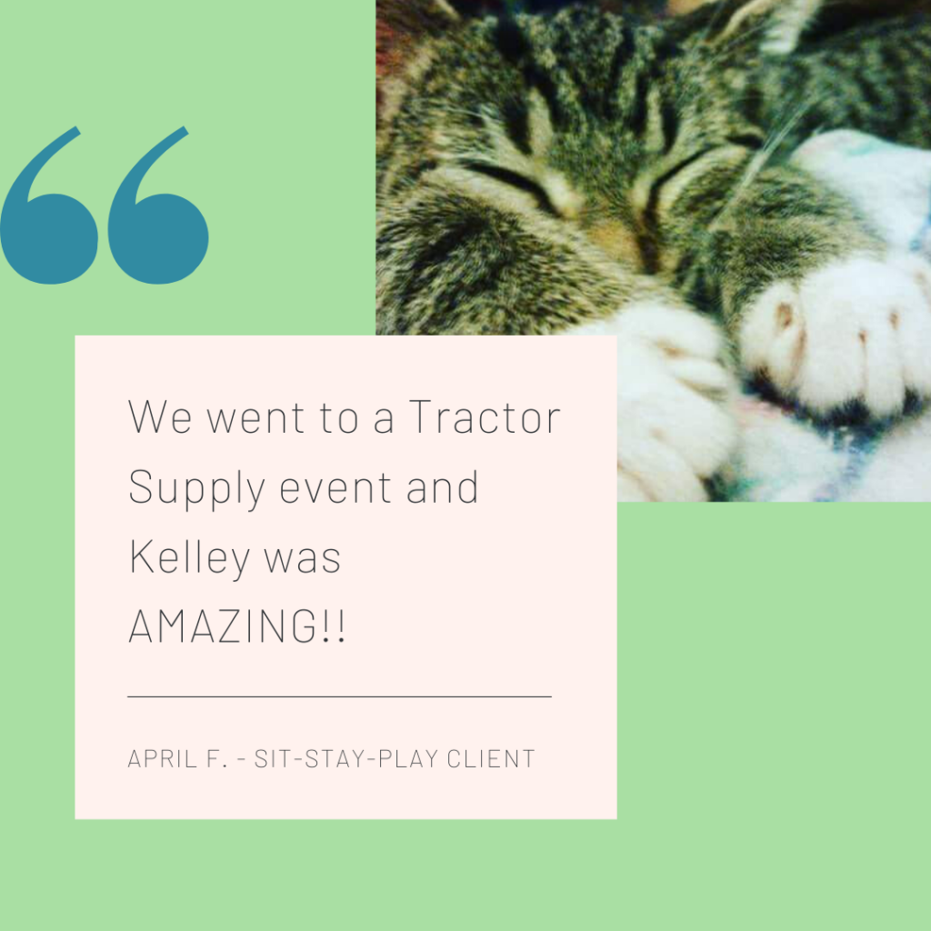 Tractor Supply pet nail event by sit-stay-play.com